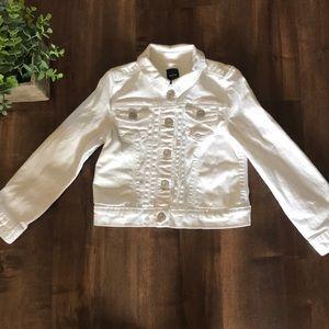 EUC gap kids jean jacket size xs
